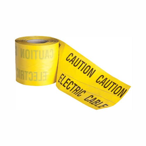 electric caution marker tape