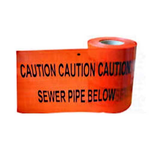 foul sewer caution marker tape