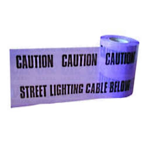 street light caution marker tape