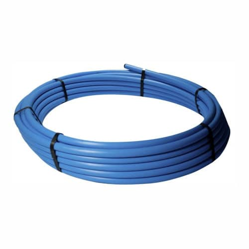 90mm blue hppe water mains pipe coils for 90mm soil pipe