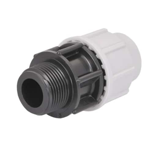 plasson mdpe male adaptor
