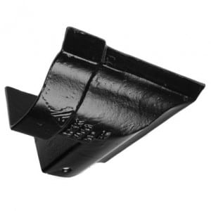 115mm Victorian Ogee Cast Iron 90 Degree External Angle