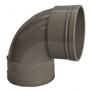 110mm Solvent Soil Double Socket 92.5 Degree Bend