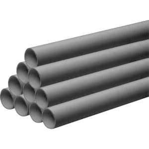 grey waste pipes