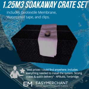 1.25m3 soakaway crate set product picture