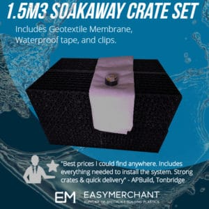 1.5m3 soakaway crate set product picture