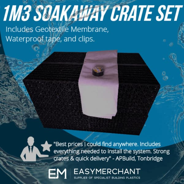 1m3 soakaway crate set product picture