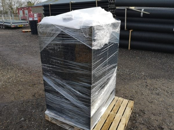 Picture of an soakkaway crate set that has been picked and packed ready for dispatch at EasyMerchant