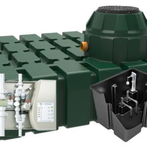 product picture of Hydrostore HHG 2900 litre Home Harvest Gravity rainwater harvesting system harlequin