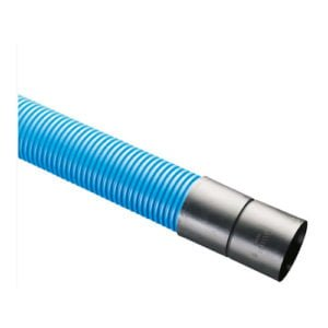 picture of blue water duct twinwall hdpe 6m
