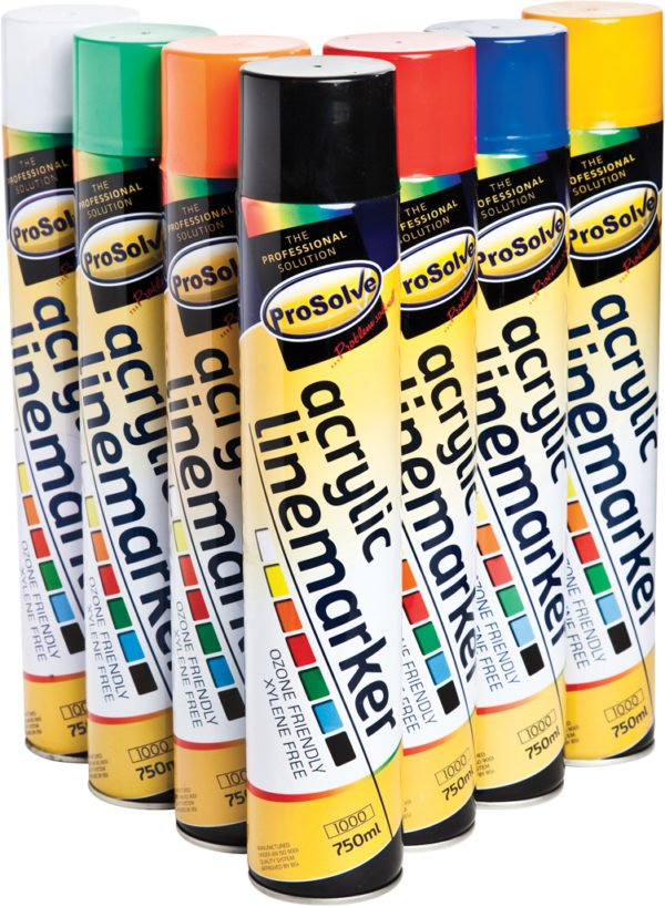 product picture of line marking spray paint 750ml by prosolve