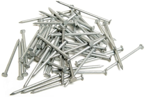 product picture for galvanised wire nails round