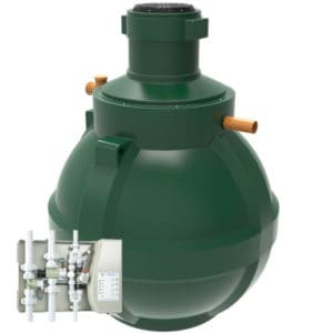 product picture of Hydrostore 6000 Home Harvest Gravity rainwater harvesting system harlequin