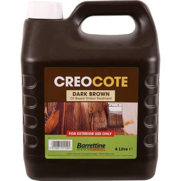 Product picture of Creocote Shed & Fence Treatment 4L Dark Brown