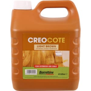 Product picture of Creocote Shed & Fence Treatment 4L Light Brown