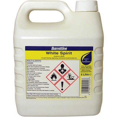 product picture of barrettline white spirit 4l