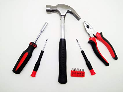 picture of tools for fitting guttering