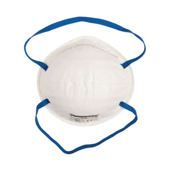product picture of silverline moulded face mask single unwrapped